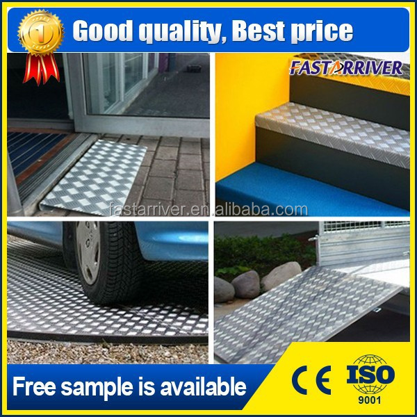 5 bar pebble embossed aluminum sheet aluminum trailer flooring