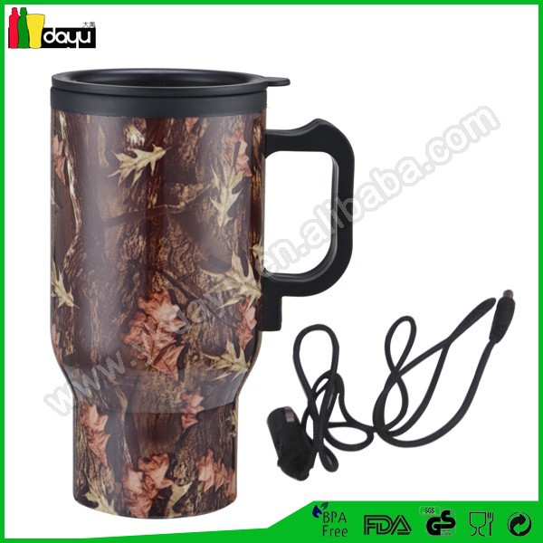 Auto Heated Travel Coffee Tea Mug Cup 12V & pens and mug screen printing machines