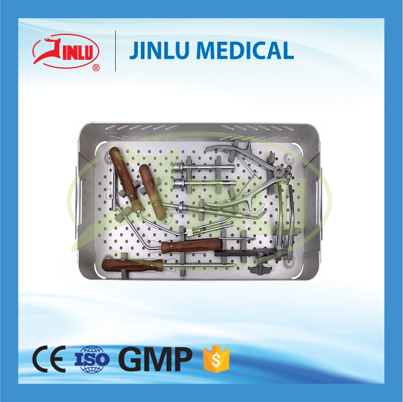 24 hours feedback Surgical instruments,orthopedic surgery tools,anterior cervcial plate instruments set