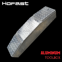 Aluminum trailer sliding tool box for truck bed