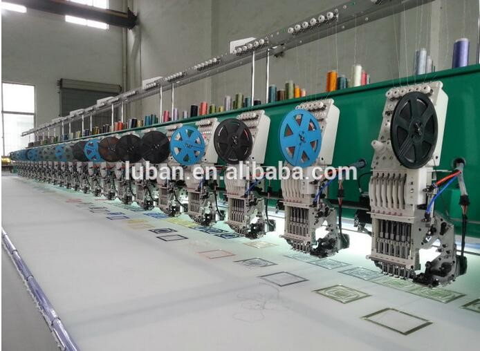 624 high speed computer embroidery machine price with single sequin