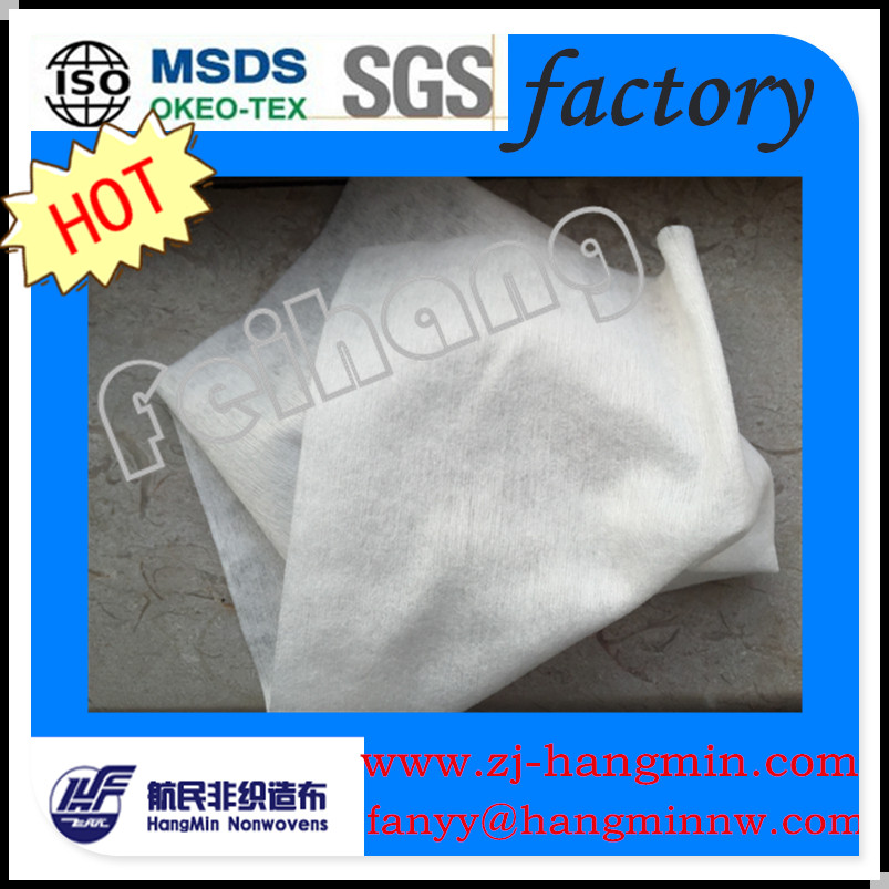 100% tencel fabric spunlace nonwoven for lady face mask, wet wipes