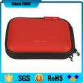 red pu leather cover eva camera extension case