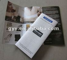 Knife booklet/leaflet/brochure printing 2012