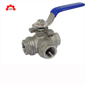 1000wog female npt thread rubber lined rising stem pipeline sus304 ball valve
