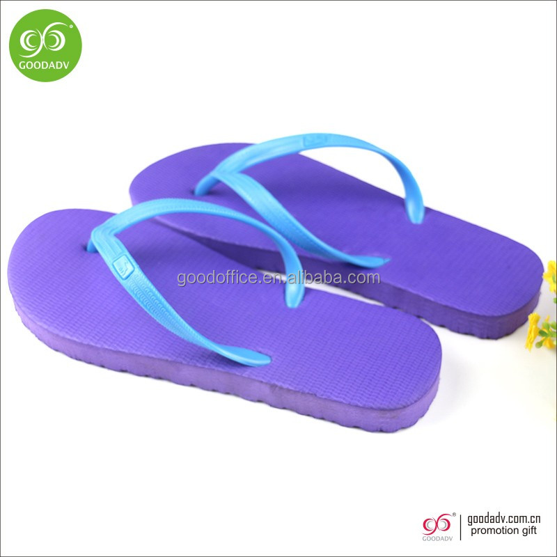 Cheap wholesale fashion lady flip flop beach slippers for 2017