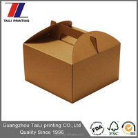 Paper,kraft and corrugated paperboard Material and Food Industrial Use bakery cake box