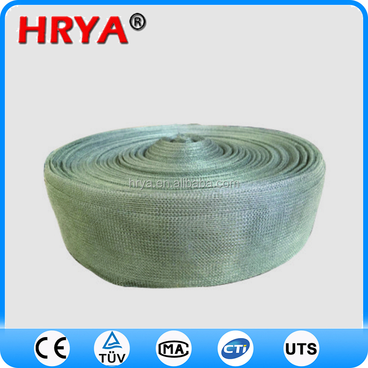 pvc coated wrap edges crimped wire mesh copper bronze screen wire mesh