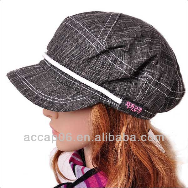 ladies military style hats for women