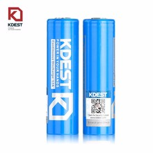 2017 new battery for Kdest 18650 battery 3500mah 30a mod e-cigs and e-bike 18650 li ion battery