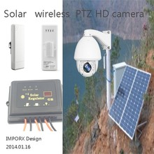 960P 1.3MP high speed solar powered 2km wifi wireless auto tracking PTZ IR IP camera support P2P