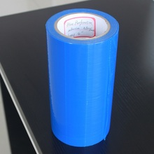 PE perforation protective film with customized adhesion