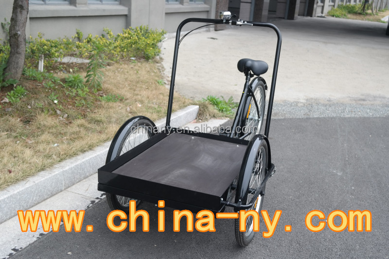 2015 cargo bike / delivery cargo bike / Front loading Carrier tricycle/ UB9027PB