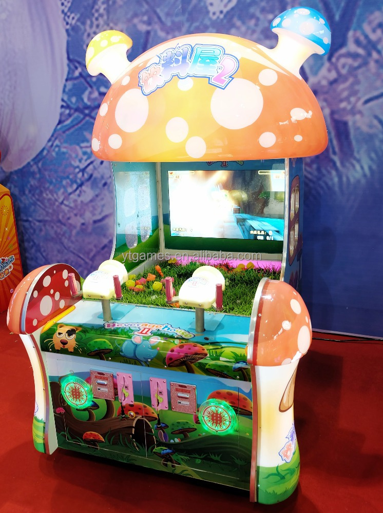 AAA SHOW !!! DRINK HOUSE kids amusment electronic prize lottery water shooting machine educational game machine