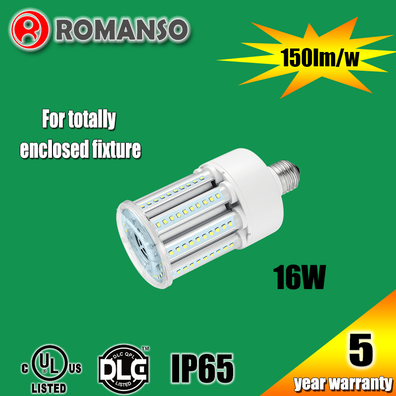 MH CFL HPS lamp repalcement high brightness e40 e27 led corn bulb light 15w 16w 18w