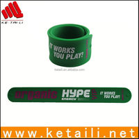 Factory supply silicone slap wristband Welcome OEM