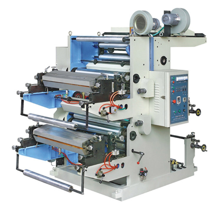 Four Color Plastic And Paper Bag Packing Cover Meat Flexo Printing Machine