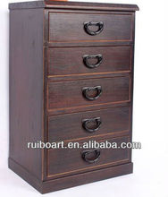 Paulownia wooden furniture cabinet