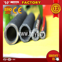 Factory production! Steel wire braided hydraulic oil hose SAE R1 and R2