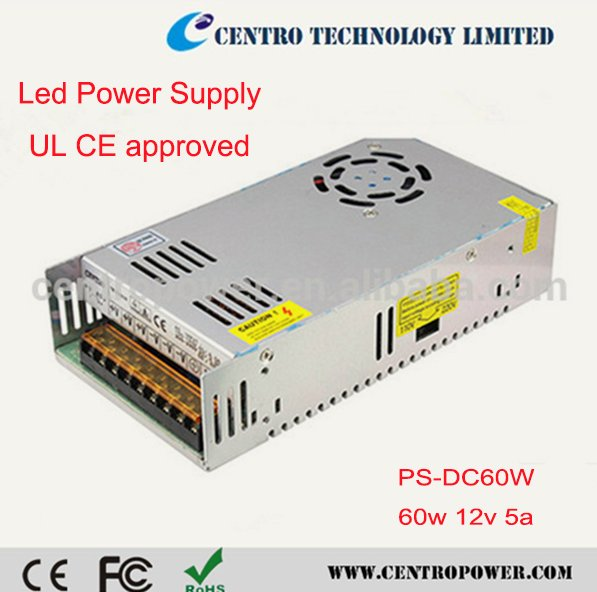 AC DC 12V 10A Power Supply 120W with UL CE Certification