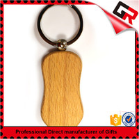 Promotion wholesale wooden key ring