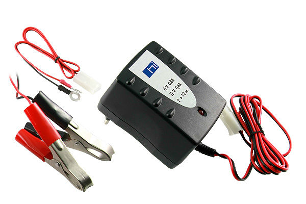 For 6V/12VDC Lead-Acid Battery Charger