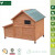 Garden Used Weatherproof Wooden Layer Chicken Cage