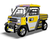 Four Wheels Walking Truck F-027 60V 3.5KW electric pickup truck (2 seats) with strong body from china moped car