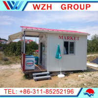 Best selling product China prefabricated homes living container house from china supplier