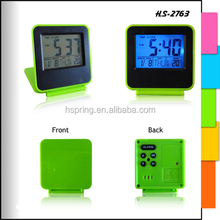 Samples are available affordable price electric calendar clock