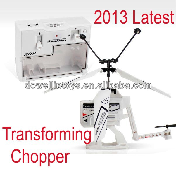 Latest Mini RC Helicopter ,3.5CH RC Toy Transforming Helicopter with Gyro Toys