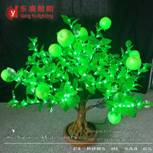 indoor decoration led apple bonsai tree light