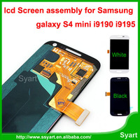 Free DHL ORIGINAL 10PCS / Lot for Samsung Galaxy S4 MIni LCD Display +Touch Digitizer Screen Assembly lcd i9190 I9195