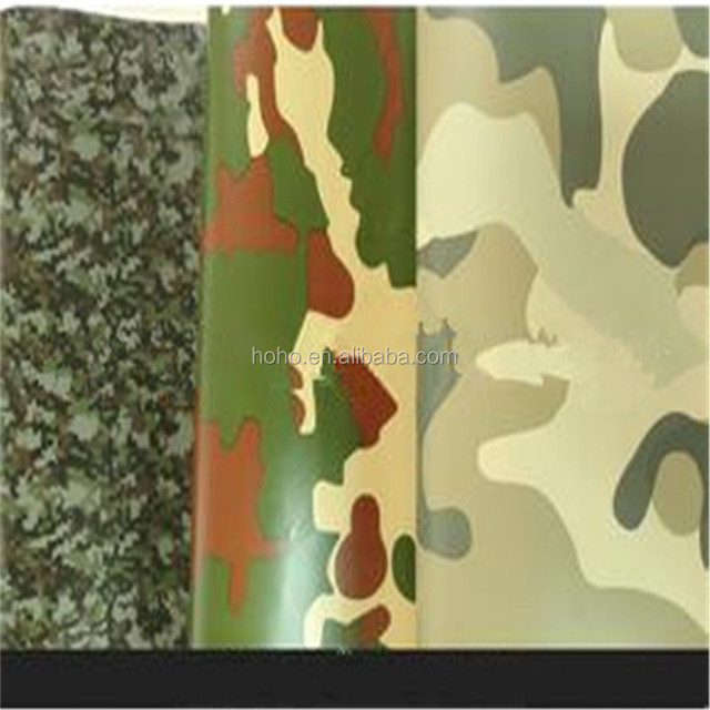 Car Modification Vinyl Camouflage Wrap Film ,New Sticker Accessories For Car