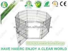 Foldable Animal Enclosure Fence ,Farm Animal Pens,Dog Play Pen with Door PP2424