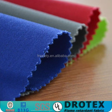 China Manufacture EN Standard Flame Resistant Fabric Antifire Workwear Fabric Fire Retardant Fabric