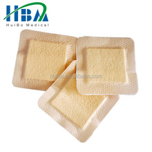 high absorbent professional foam dressing medical wound dressing sponge in rolls