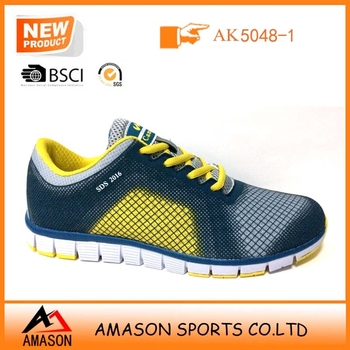 2018 latest design breathable running shoes for man woman