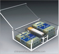 Clear Acrylic Cigarette Display Case