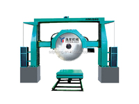 HMJ180/10 gantry diamond disc used granite bridge saw machine 125