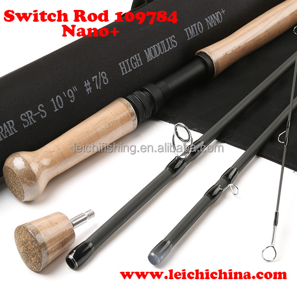 Wholesale carbon fiber switch fly rods for fishing
