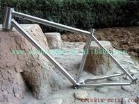 "Available 29"" mtb bike titanium frame made in XACD"