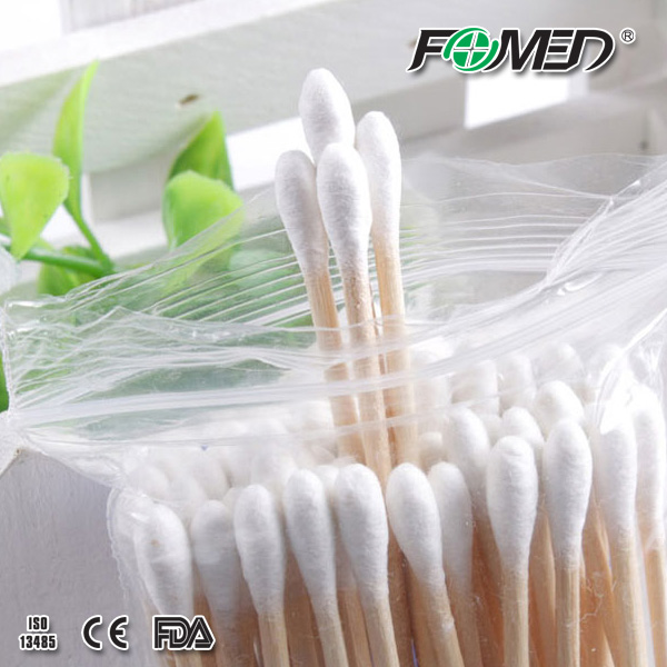 Hot sale medical wood stick Cotton Tipped Applicators
