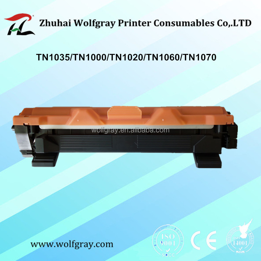 Compatible toner cartridge for brother TN1000 hl-1110