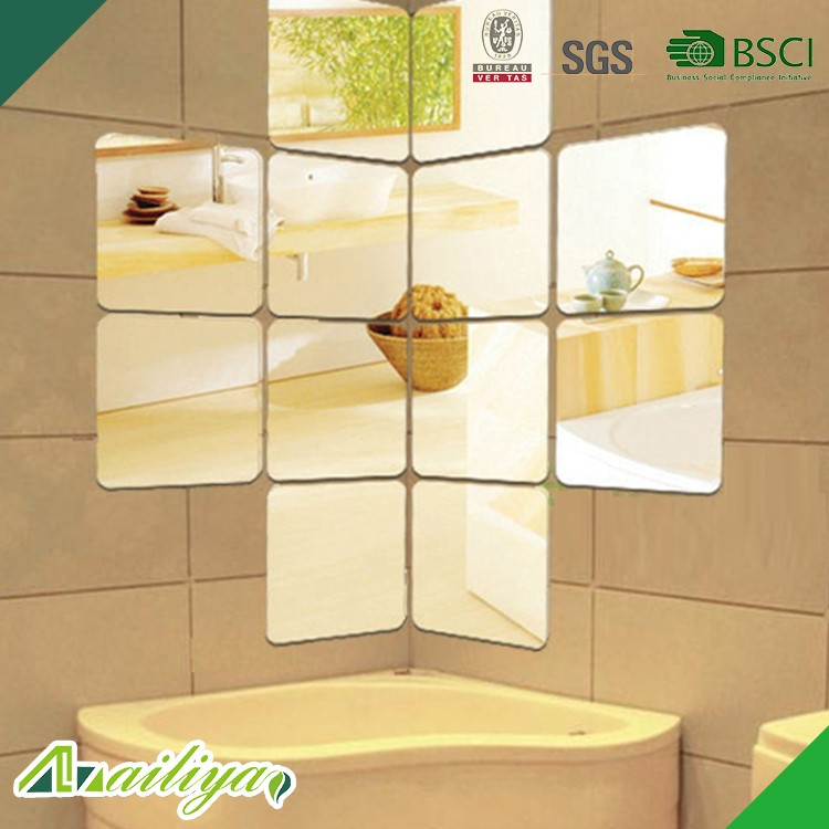 ALY-MS013 Espejo Casa BSCI Decorativo Dormitorio Pegatinas de Pared