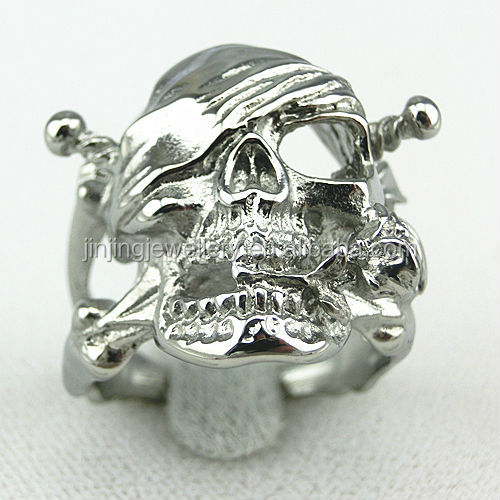 Hot New Products For 2015 Jewelry Display Wholesale Fashion Skull Rings