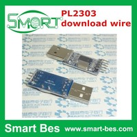 SmartBes PL2303 download wire/USB turnTTL/STC microcontroller programmer