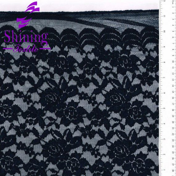 2013 Hot Selling Design Of Cotton Nylon Fabric Lace Wholesale For Garment
