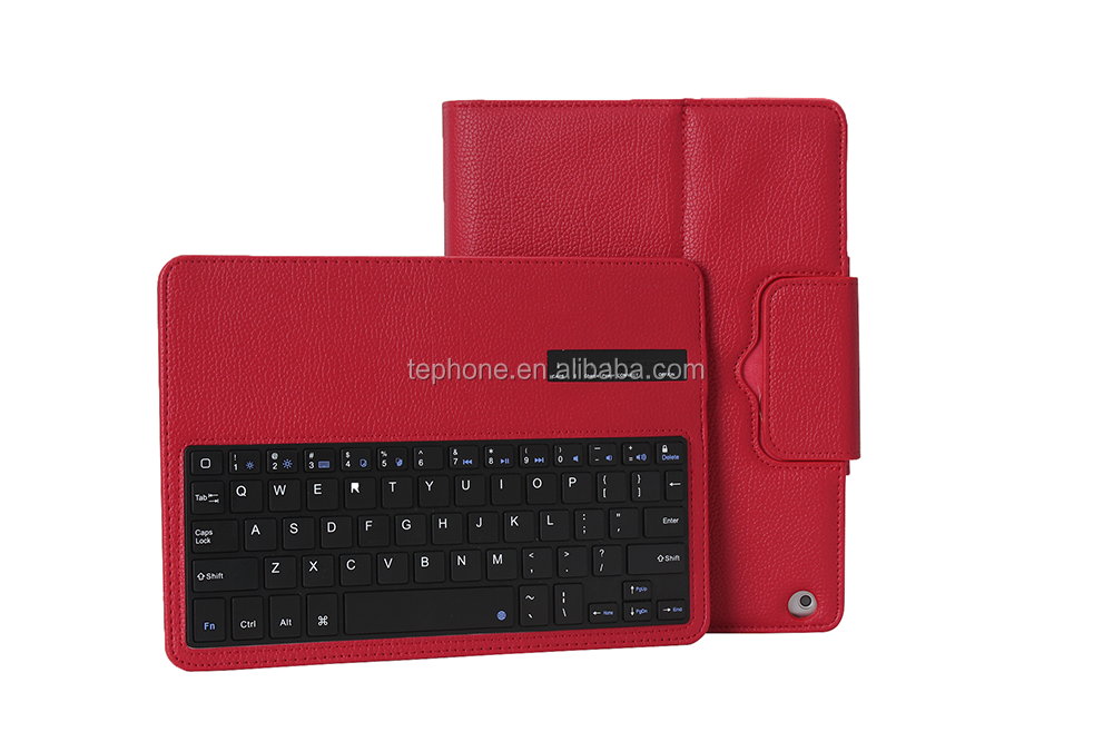 Bluetooth Keyboard for iPad Air, PU Case for iPad air -IP051