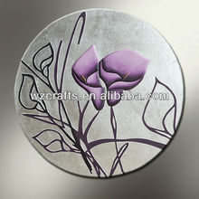 wholesale purple calla lily canvas flower wall art decor oil painting